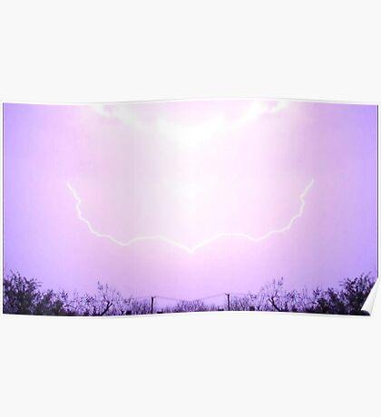 March 19 & 20 2012 Lightning Art 14 Poster