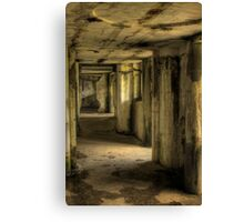 Abandoned Fort Canvas Print