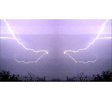 March 19 & 20 2012 Lightning Art 19 Photographic Print