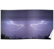 March 19 & 20 2012 Lightning Art 25 Poster