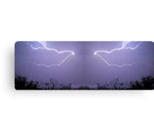 March 19 & 20 2012 Lightning Art 26 Canvas Print