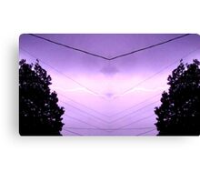 March 19 & 20 2012 Lightning Art 38 Canvas Print