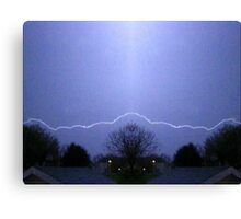 March 19 & 20 2012 Lightning Art 41 Canvas Print