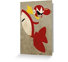 Protoman Greeting Card