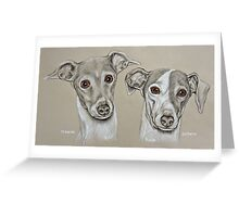 Gracie & Sophia Greeting Card