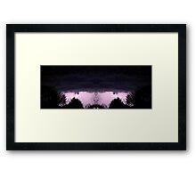 March 19 & 20 2012 Lightning Art 59 Framed Print
