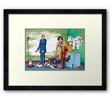 Dirk Gently Framed Print