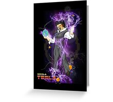 DBZ Tesla Greeting Card