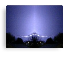 March 19 & 20 2012 Lightning Art 62 Canvas Print