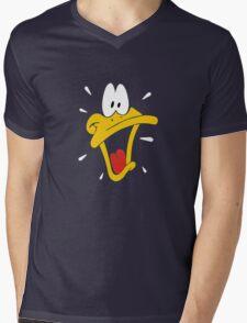 Daffy Mens V-Neck T-Shirt