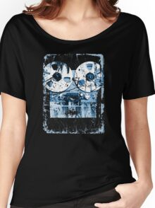 Damaged tape recorder Women's Relaxed Fit T-Shirt