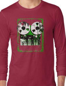 Damaged tapes recorder 2 Long Sleeve T-Shirt