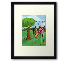 Rock n' Roll in the Garden of Eden Framed Print