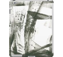 first snow fall  iPad Case/Skin