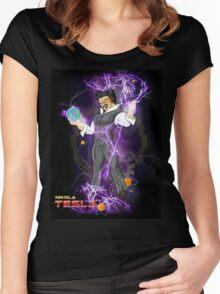 DBZ Tesla Women's Fitted Scoop T-Shirt