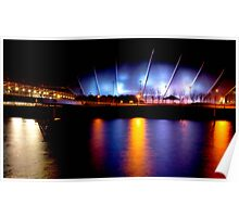 """""""River Clyde """" Glasgow  Poster"""