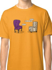 Consulting Armchair and Army Upholstery Classic T-Shirt