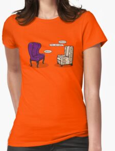 Consulting Armchair and Army Upholstery Womens Fitted T-Shirt