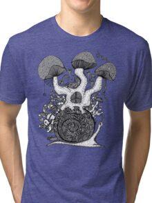 The Snail House Gray Tri-blend T-Shirt