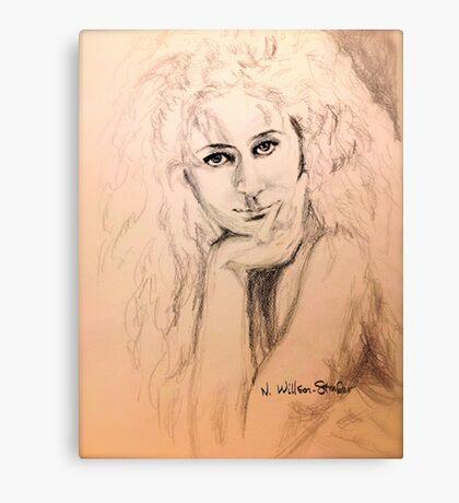 Bessie, Intimate Canvas Print