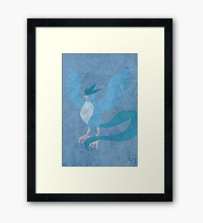 144 Framed Print