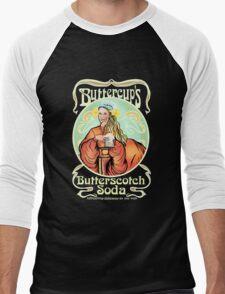 Buttercup's Butterscotch Soda  Men's Baseball ¾ T-Shirt