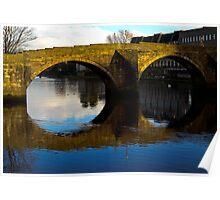 """Old Brig""  River Ayr, Poster"