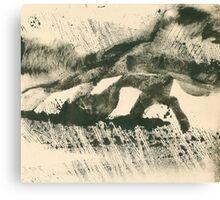 Rainy Landscape  Canvas Print