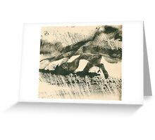 Rainy Landscape  Greeting Card