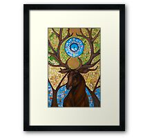 Coronation of the Forest King Framed Print