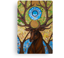 Coronation of the Forest King Canvas Print