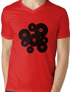 Vinyls Mens V-Neck T-Shirt
