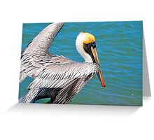 Clear for Take Off Greeting Card