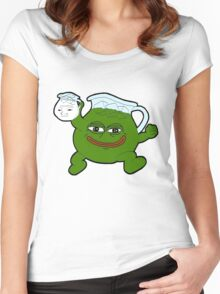 Kool Aid - Pepe Women's Fitted Scoop T-Shirt
