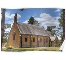 Holy Trinity Anglican Church, Berrima, NSW Poster