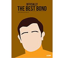 Officially the best bond - Lazenby! Photographic Print