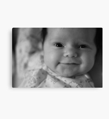Baby Knows Best Canvas Print