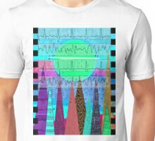 Medical Cardiac Rhythm Art Unisex T-Shirt