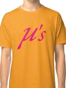 Love Live Idol Muse μ's Classic T-Shirt