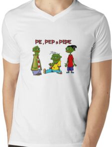 Pe, Pep n Pepe Mens V-Neck T-Shirt