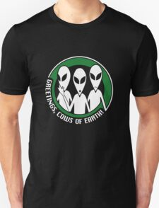 Welcome, cows of Earth! T-Shirt