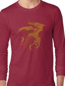 Dragonfight-cooltexture Long Sleeve T-Shirt