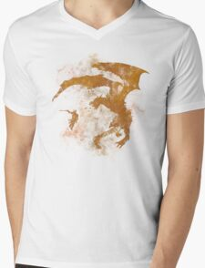 Dragonfight-cooltexture Mens V-Neck T-Shirt