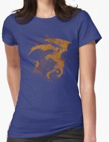 Dragonfight-cooltexture Womens Fitted T-Shirt