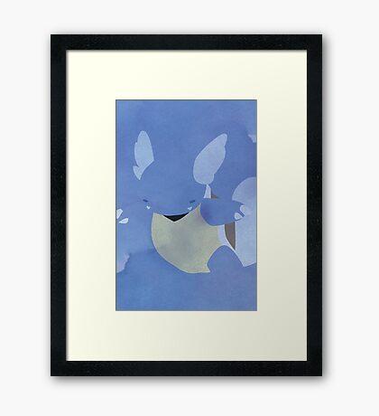 008 Framed Print