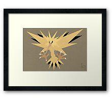 Zapdos Framed Print