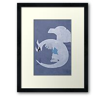Lugia Framed Print