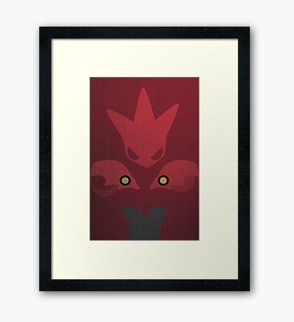 212 Framed Print