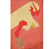 Blaziken Photographic Print