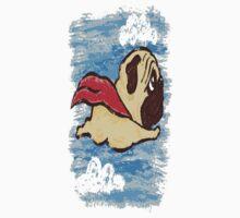 Flying Pug Baby Tee